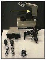 Brazo microscopio